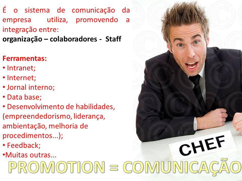 PROMOTION = COMUNICAÇÃO