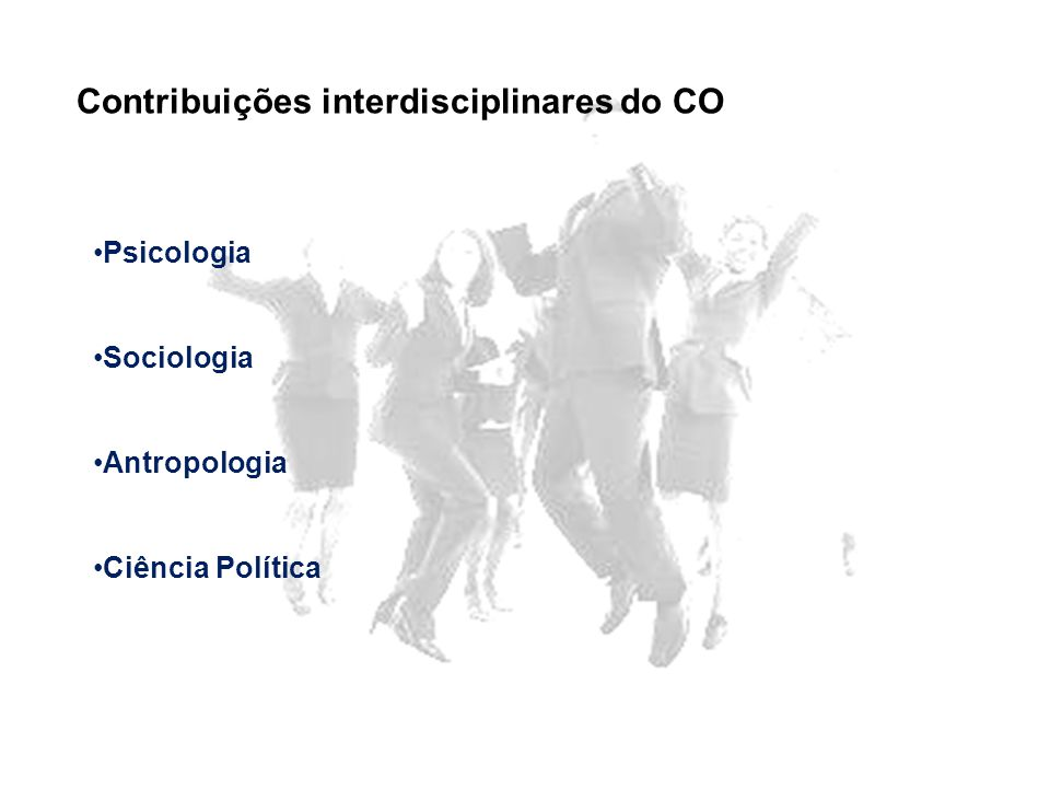 Contribuições interdisciplinares do CO