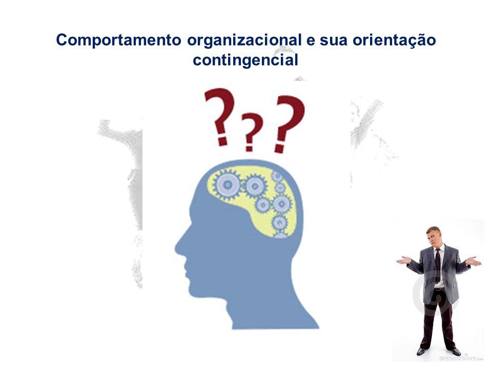 Comportamento organizacional e sua orientação contingencial