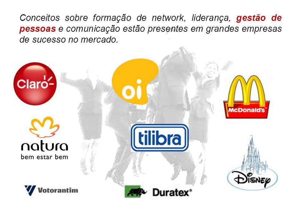 Conceitos sobre formação de network, liderança, gestão de pessoas e comunicação estão presentes em grandes empresas de sucesso no mercado.