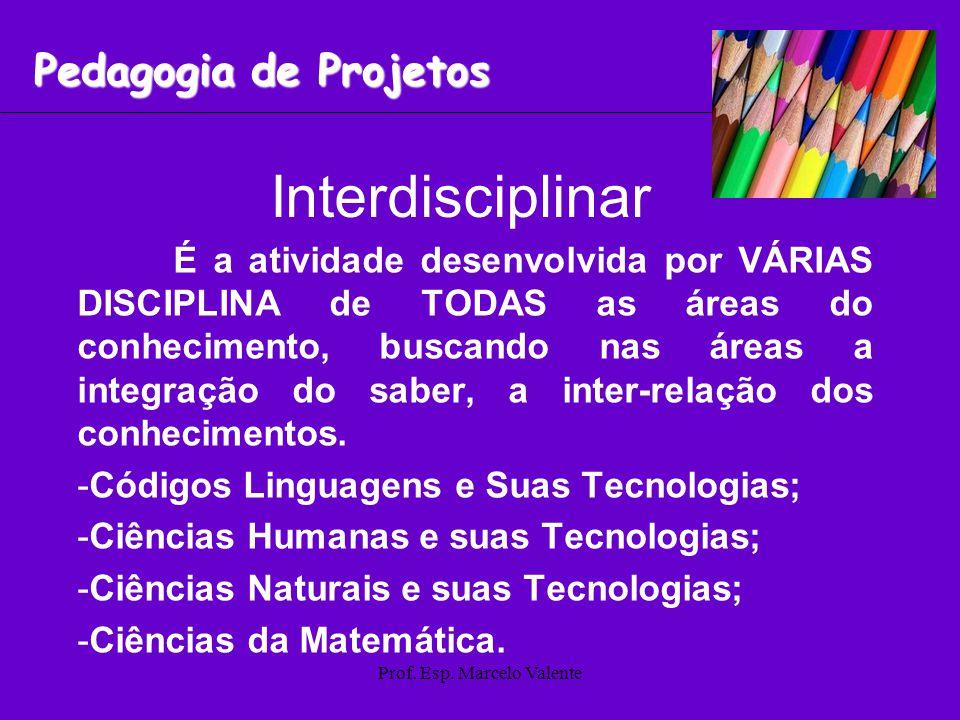 Prof. Esp. Marcelo Valente