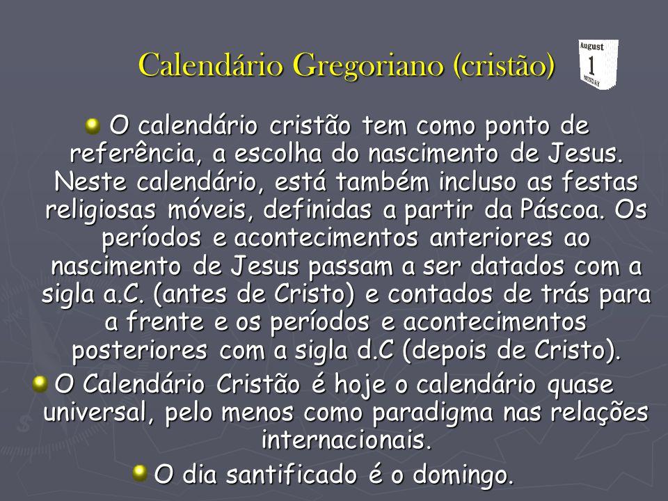 Calendário Gregoriano (cristão)