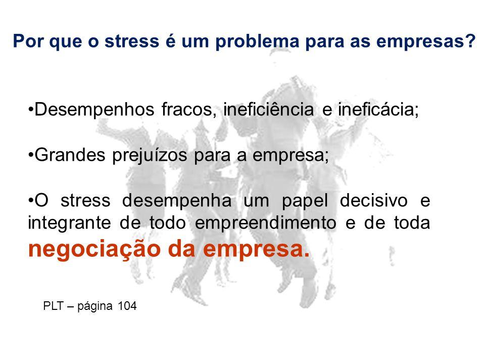 Por que o stress é um problema para as empresas