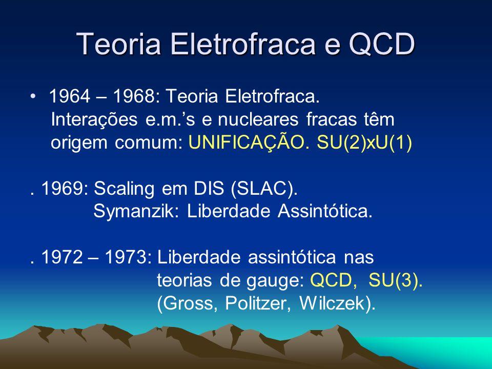 Teoria Eletrofraca e QCD