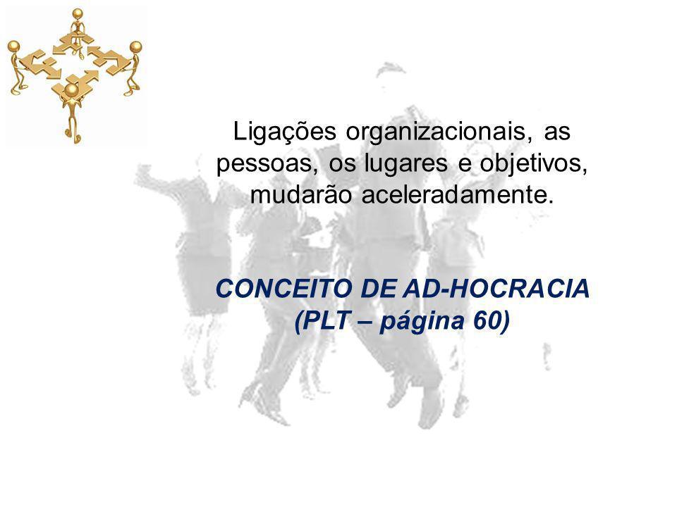 CONCEITO DE AD-HOCRACIA (PLT – página 60)