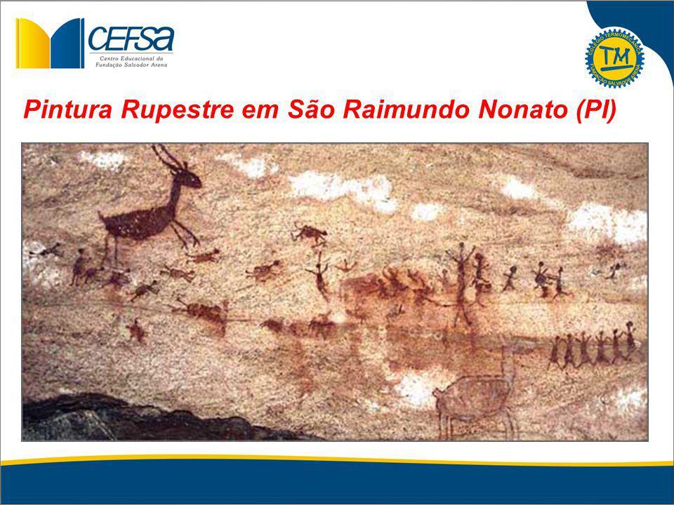 Pintura Rupestre em São Raimundo Nonato (PI)