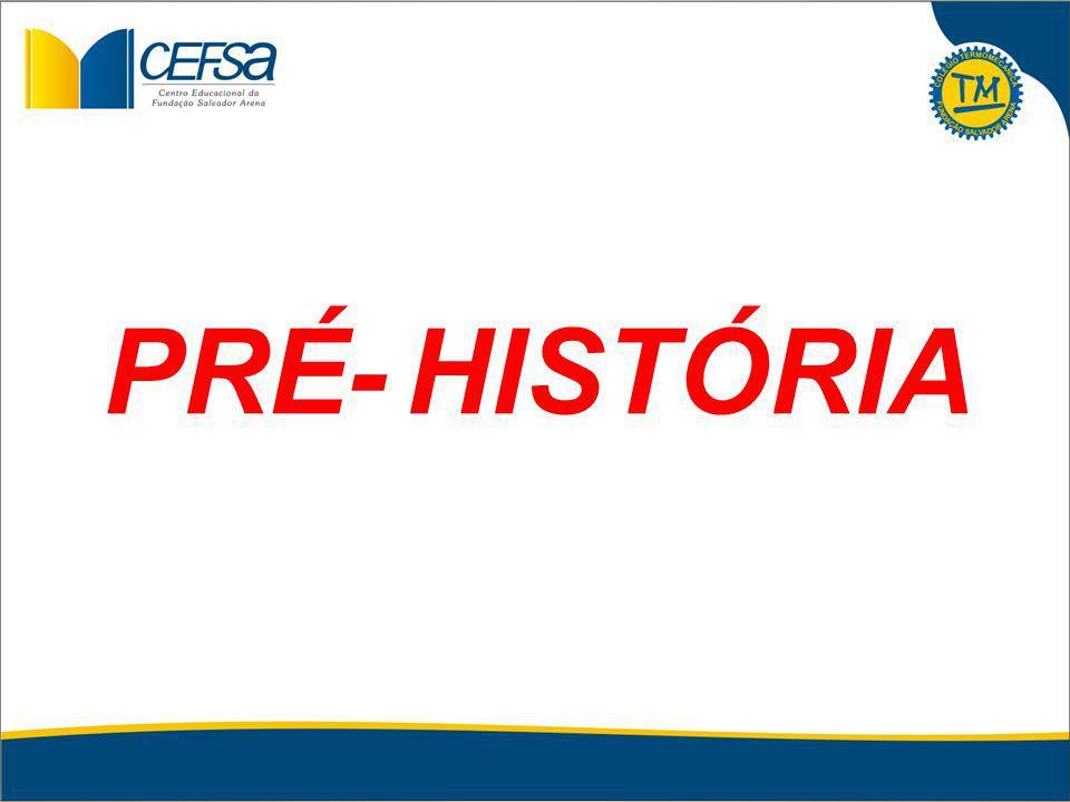 HISTÓRIA PRÉ-