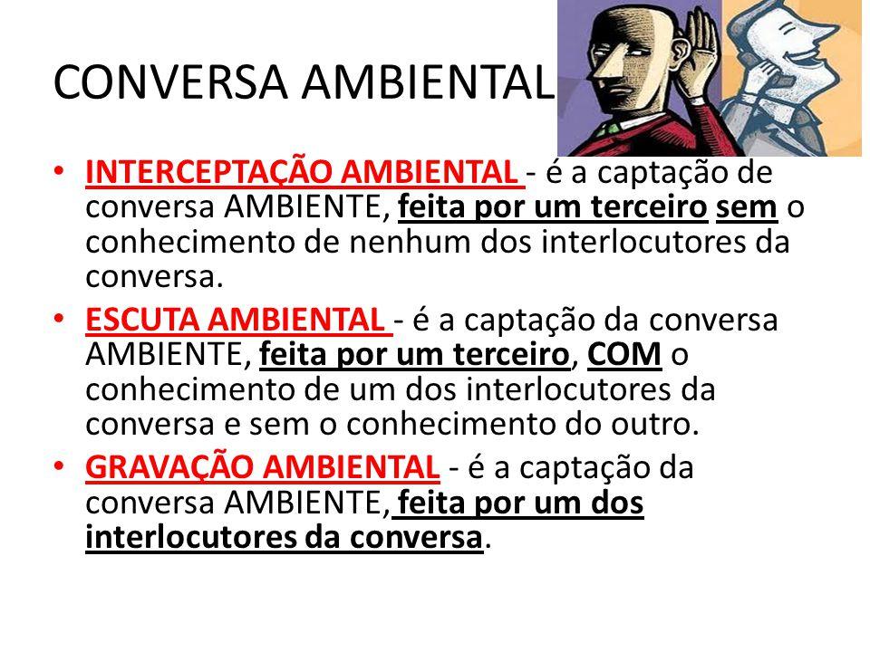CONVERSA AMBIENTAL