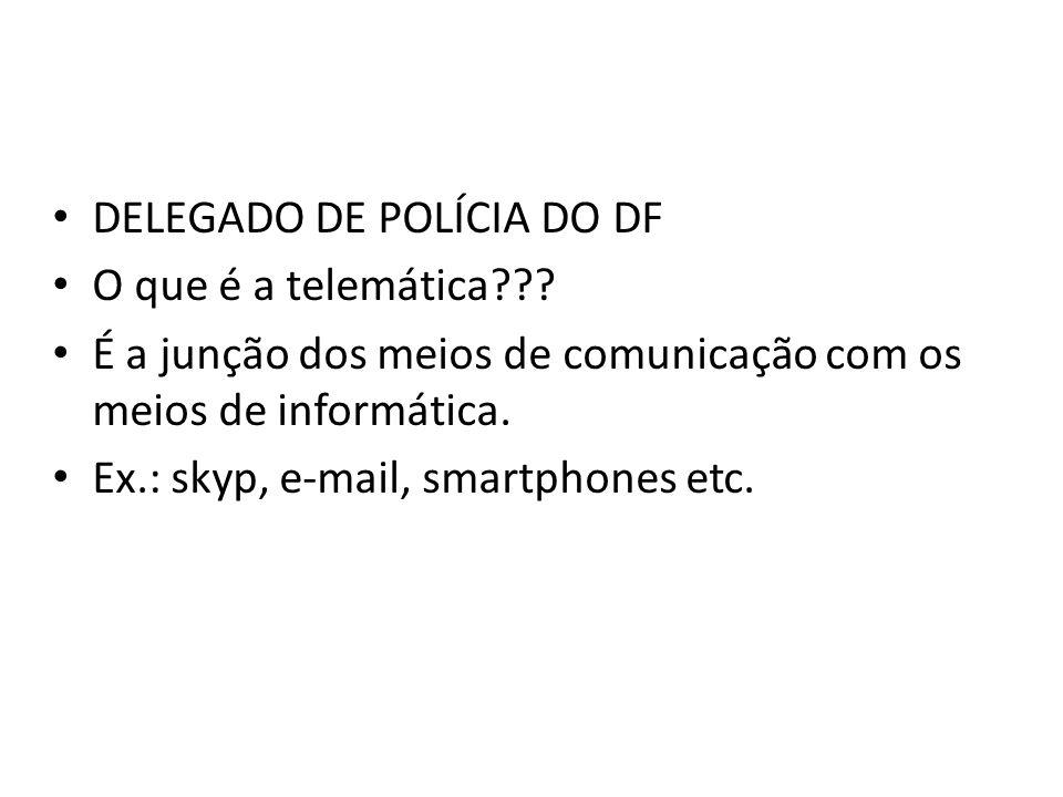 DELEGADO DE POLÍCIA DO DF