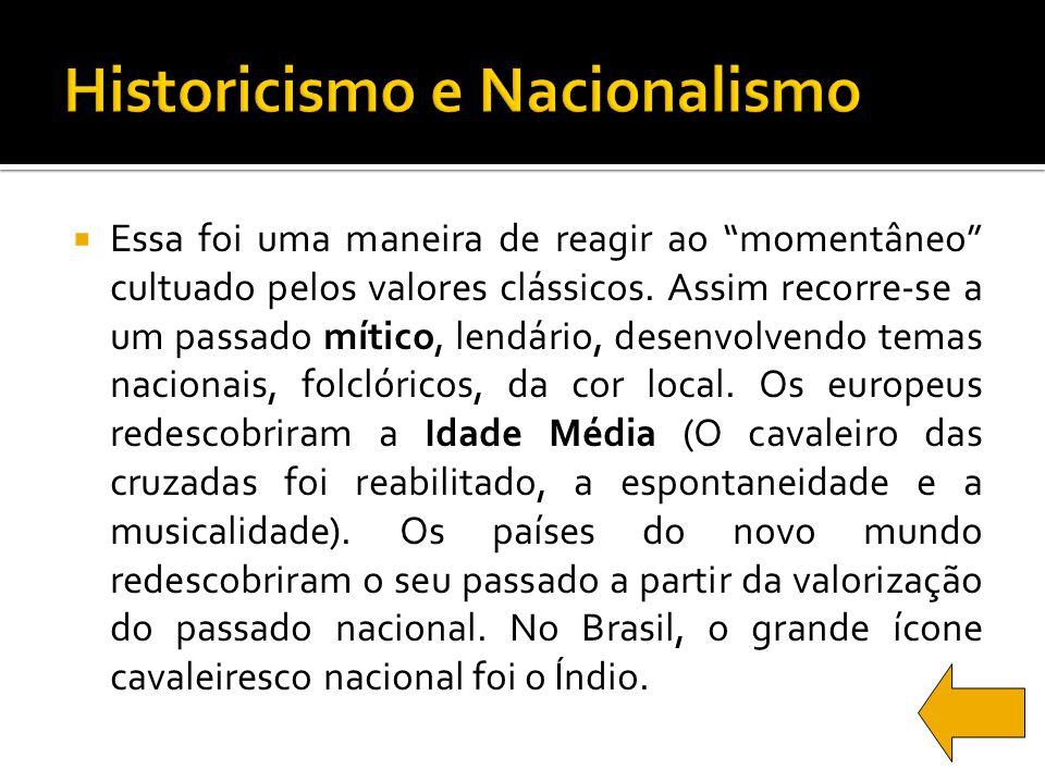Historicismo e Nacionalismo
