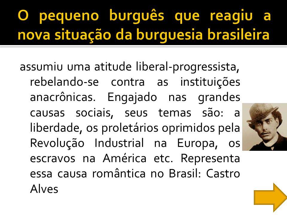 O pequeno burguês que reagiu a nova situação da burguesia brasileira
