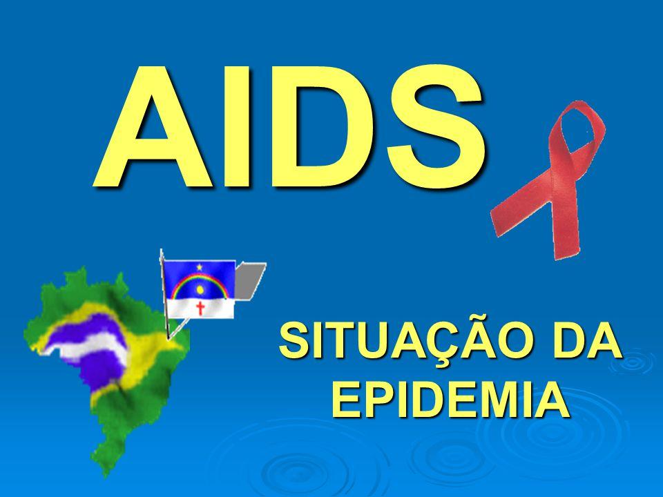 AIDS SITUAÇÃO DA EPIDEMIA
