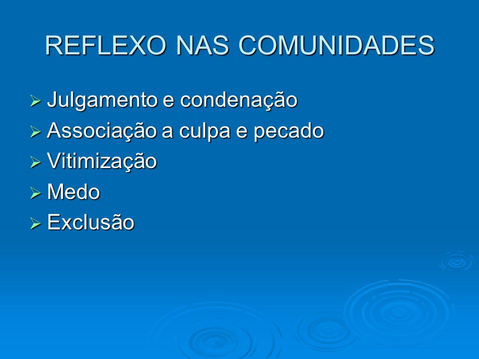 REFLEXO NAS COMUNIDADES