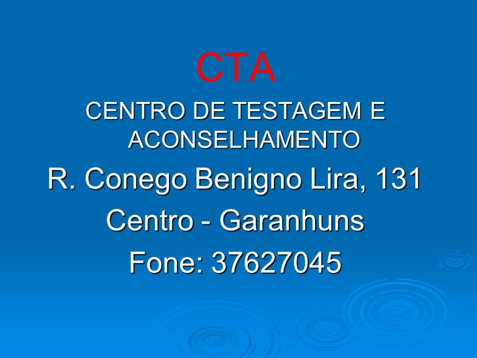 CENTRO DE TESTAGEM E ACONSELHAMENTO
