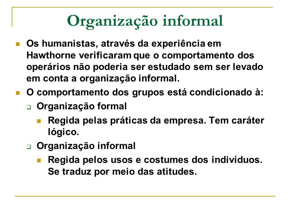 Organização informal