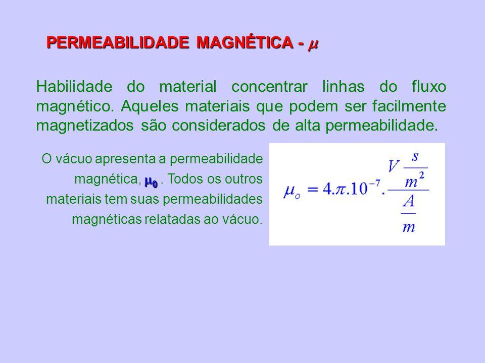 PERMEABILIDADE MAGNÉTICA - 
