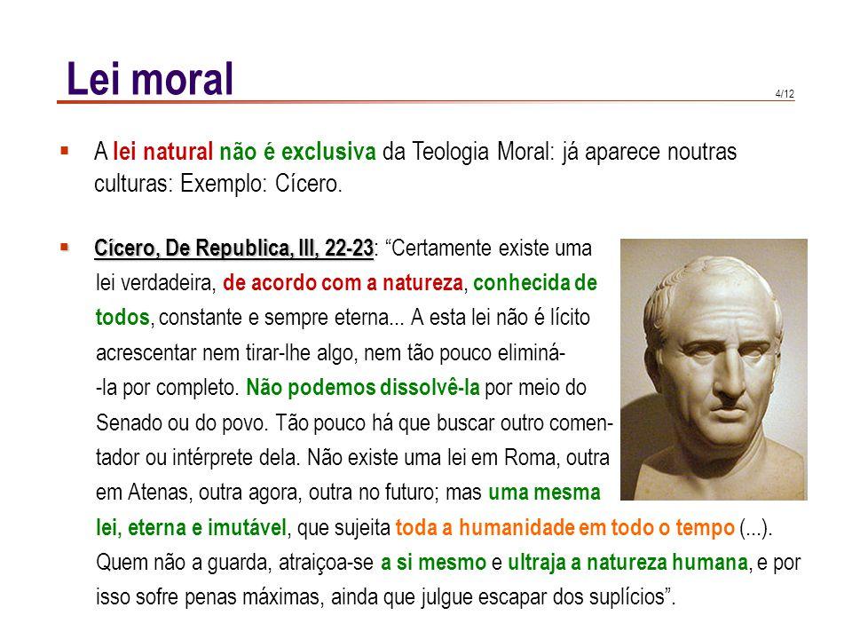 Lei moral