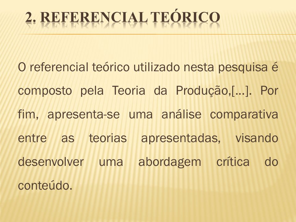 2. REFERENCIAL TEÓRICO