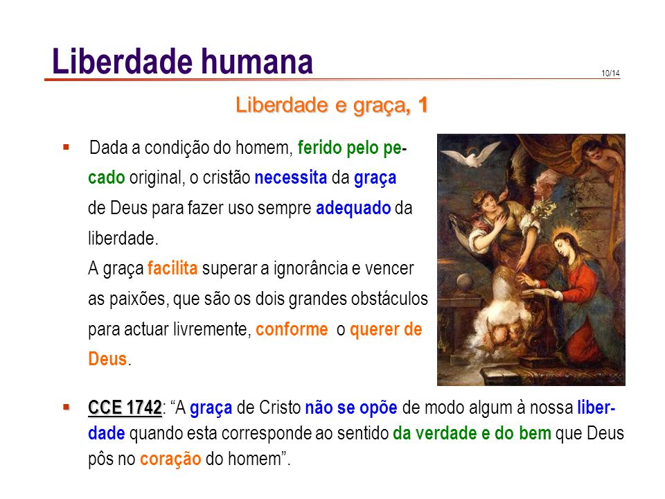 Liberdade humana Liberdade e graça, 2