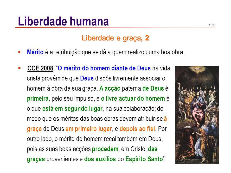 Liberdade humana Liberdade e graça, 3