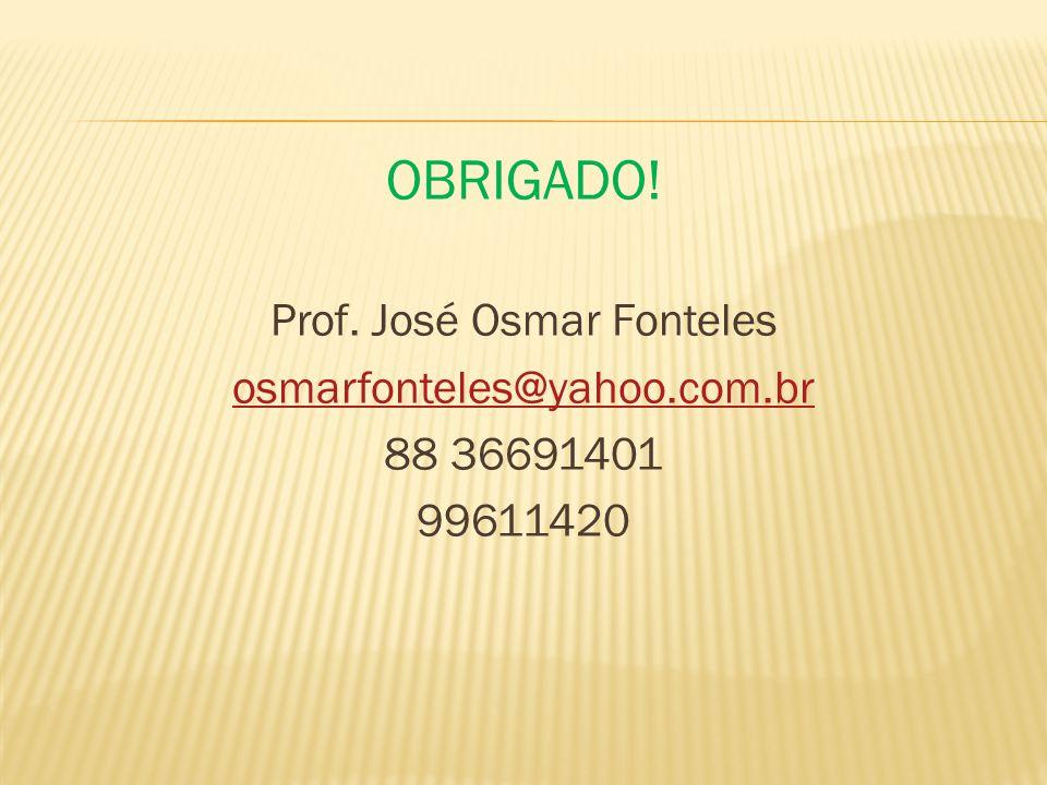 Prof. José Osmar Fonteles