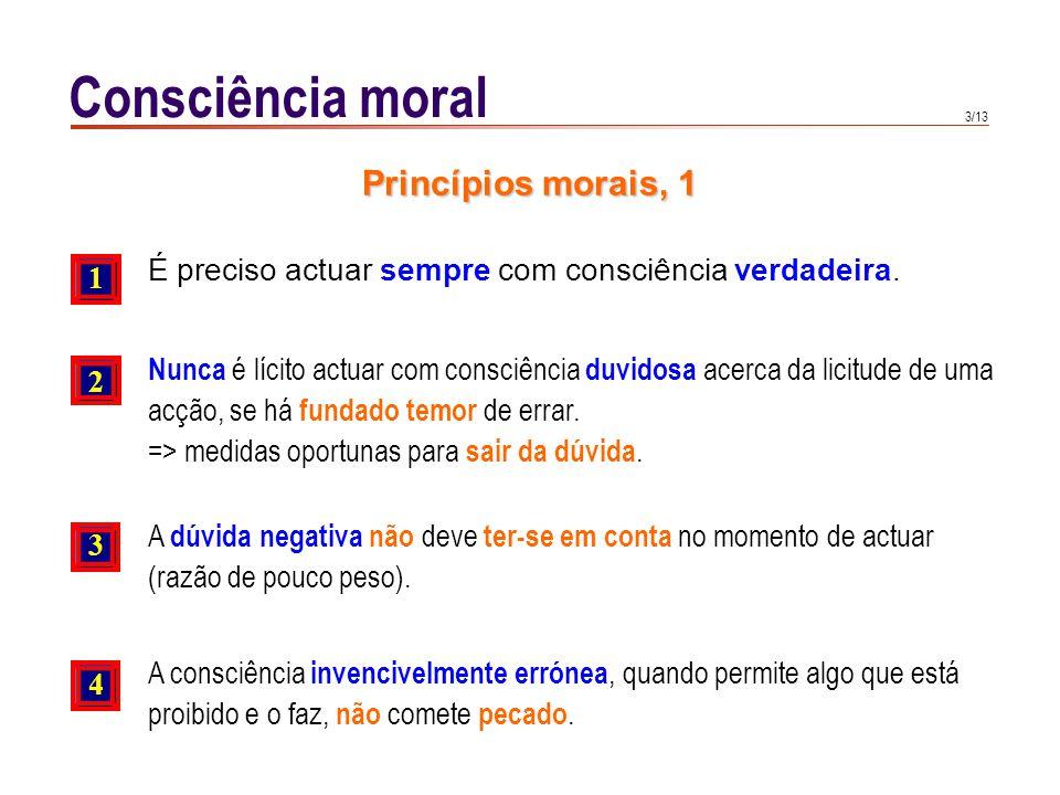 Consciência moral Princípios morais, 2