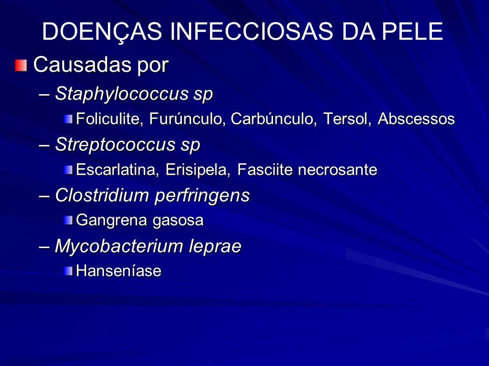 DOENÇAS INFECCIOSAS DA PELE