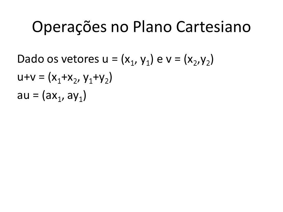 Operações no Plano Cartesiano