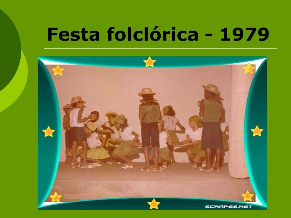Festa folclórica - 1979