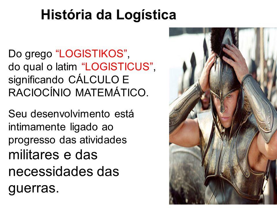História da Logística Do grego LOGISTIKOS ,