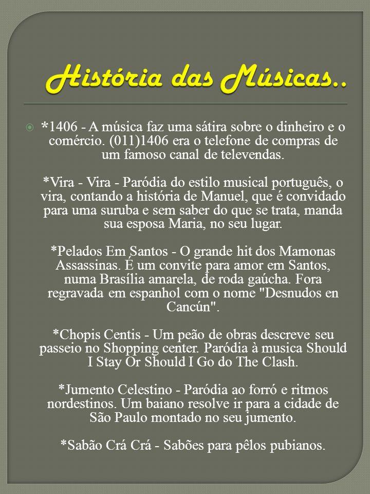 História das Músicas..