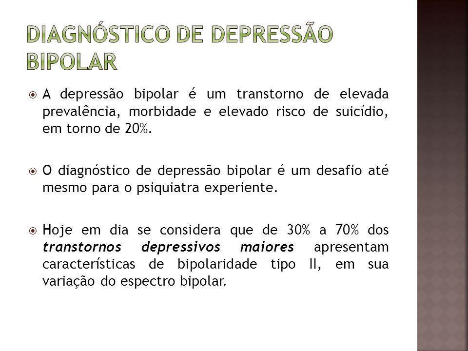 Diagnóstico de depressão bipolar
