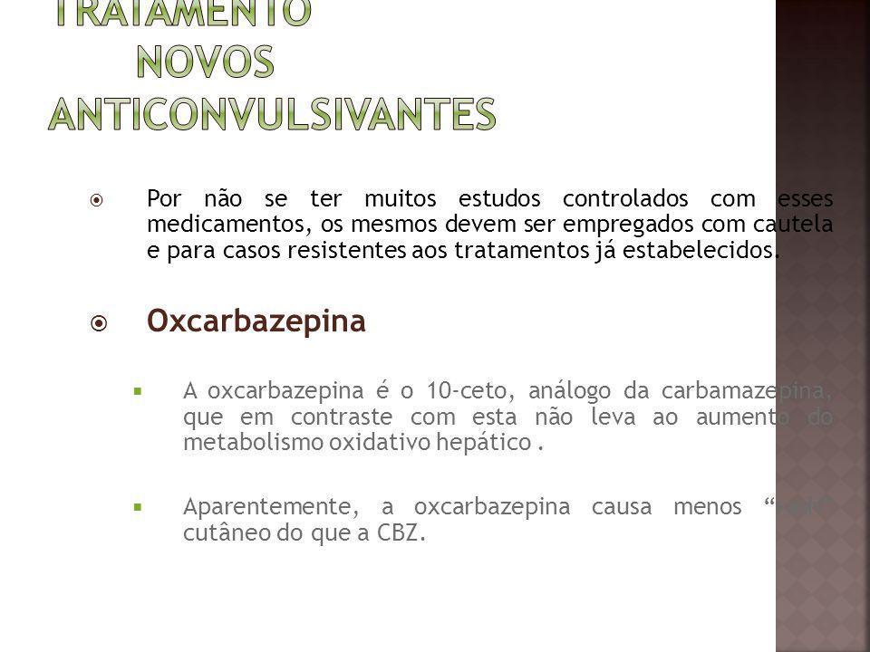 Tratamento Novos Anticonvulsivantes