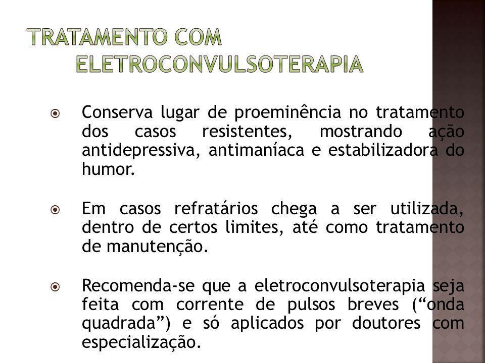 Tratamento com Eletroconvulsoterapia