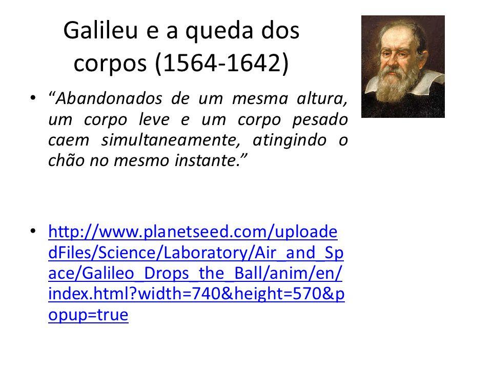 Galileu e a queda dos corpos (1564-1642)