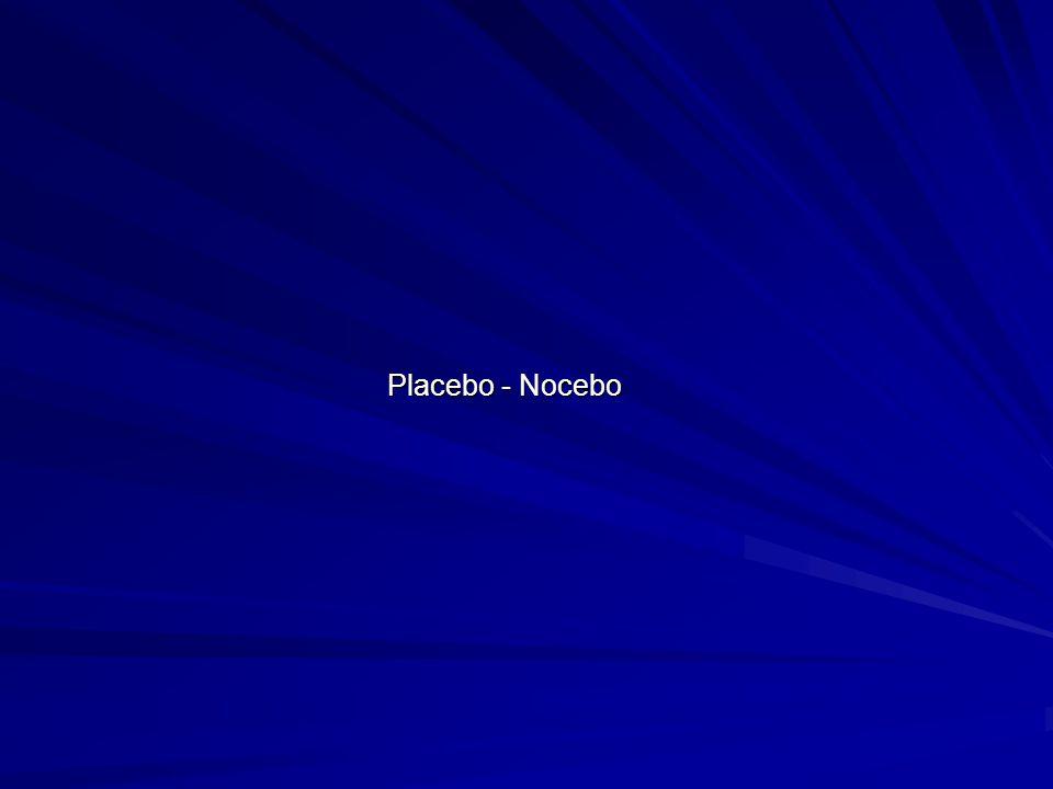 Placebo - Nocebo
