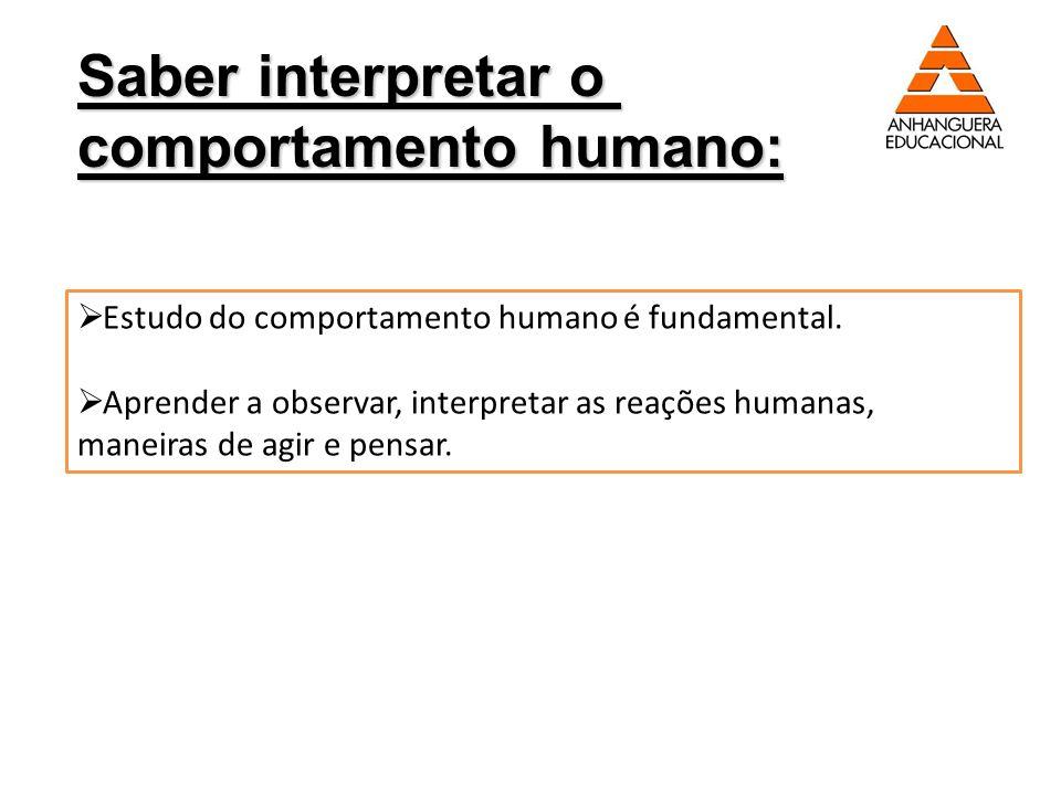comportamento humano: