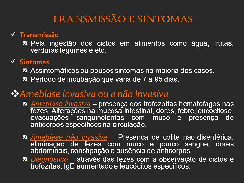 Transmissão e sintomas