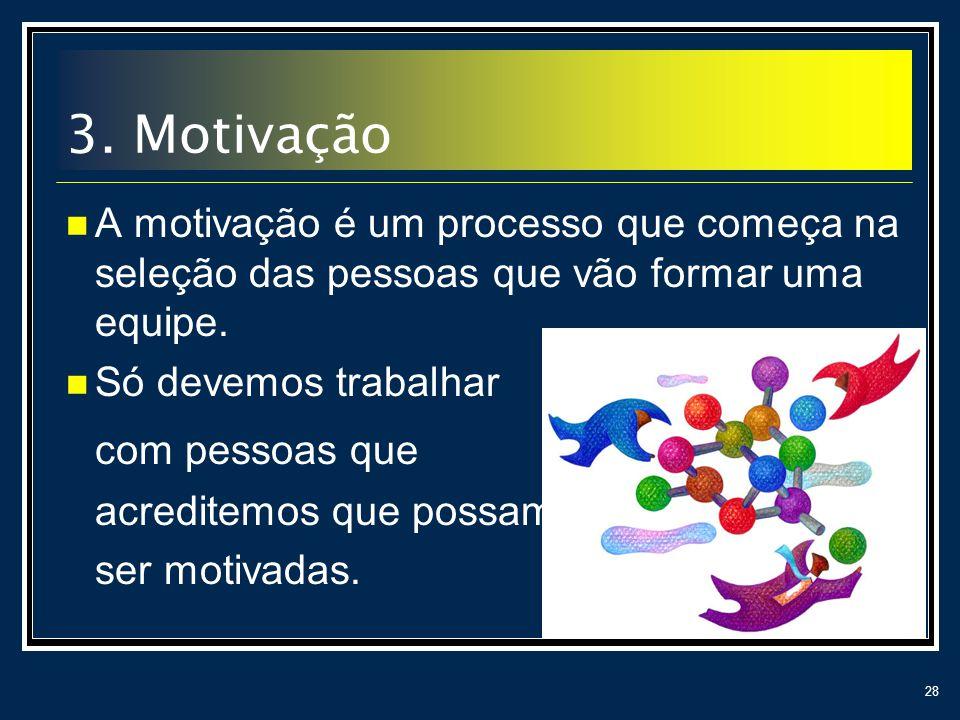3. Motivação com pessoas que