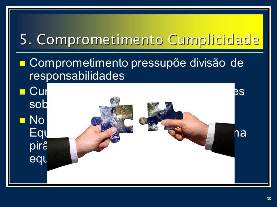 5. Comprometimento Cumplicidade