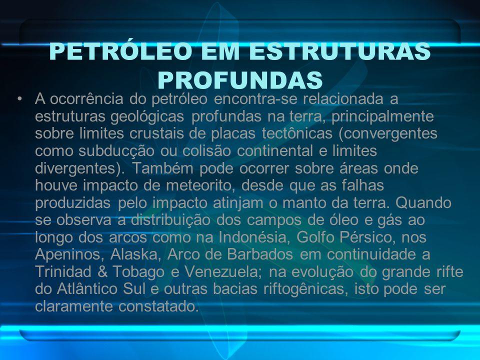 PETRÓLEO EM ESTRUTURAS PROFUNDAS
