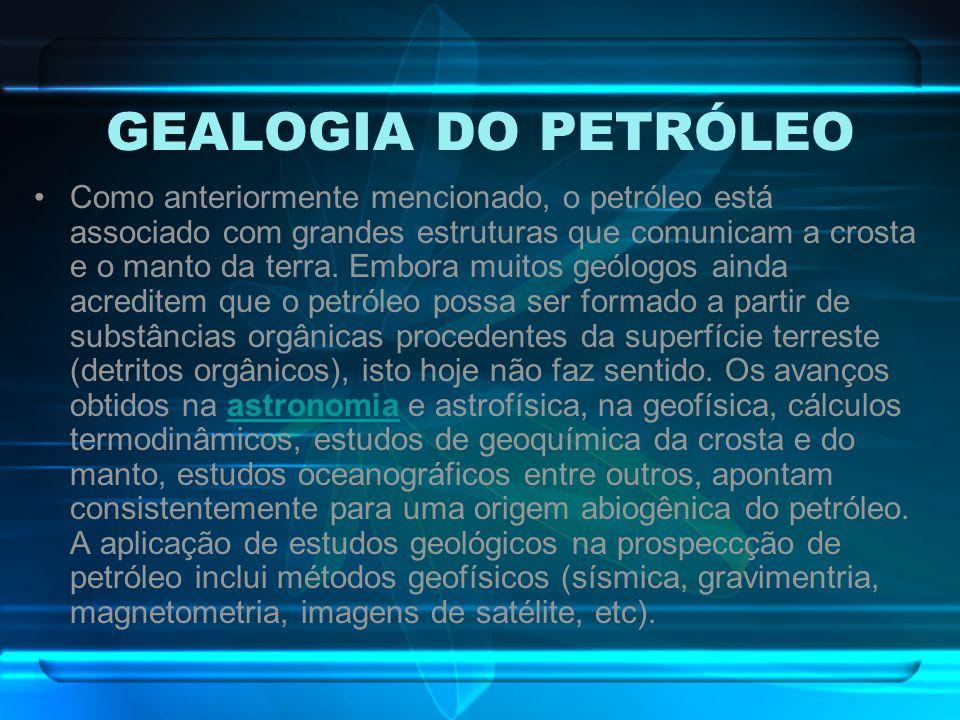 GEALOGIA DO PETRÓLEO