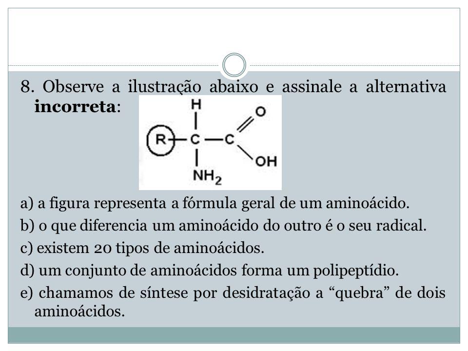 8. Observe a ilustração abaixo e assinale a alternativa incorreta:
