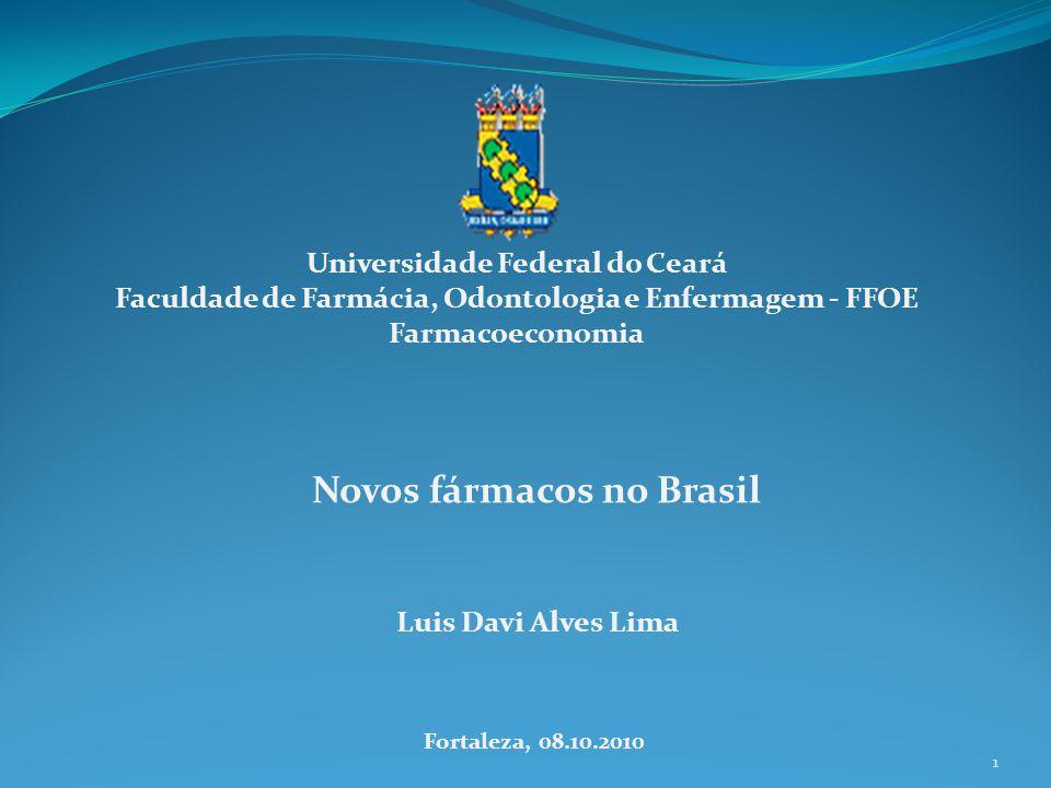 Novos fármacos no Brasil