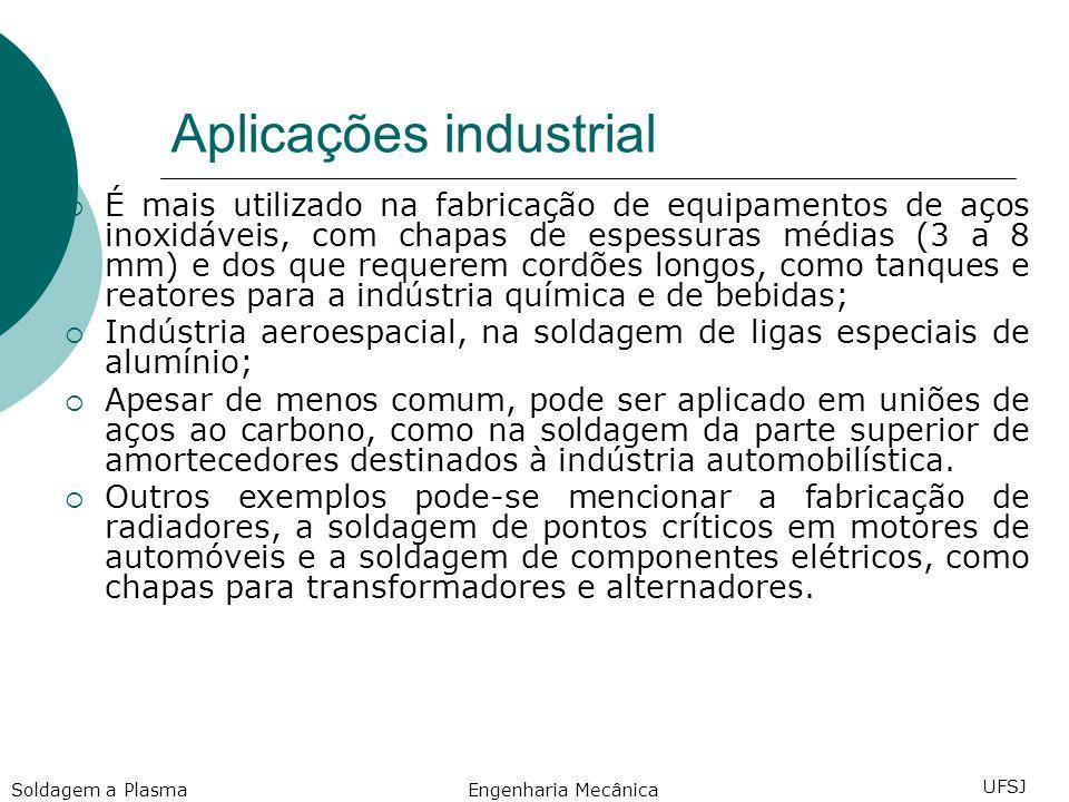 Aplicações industrial