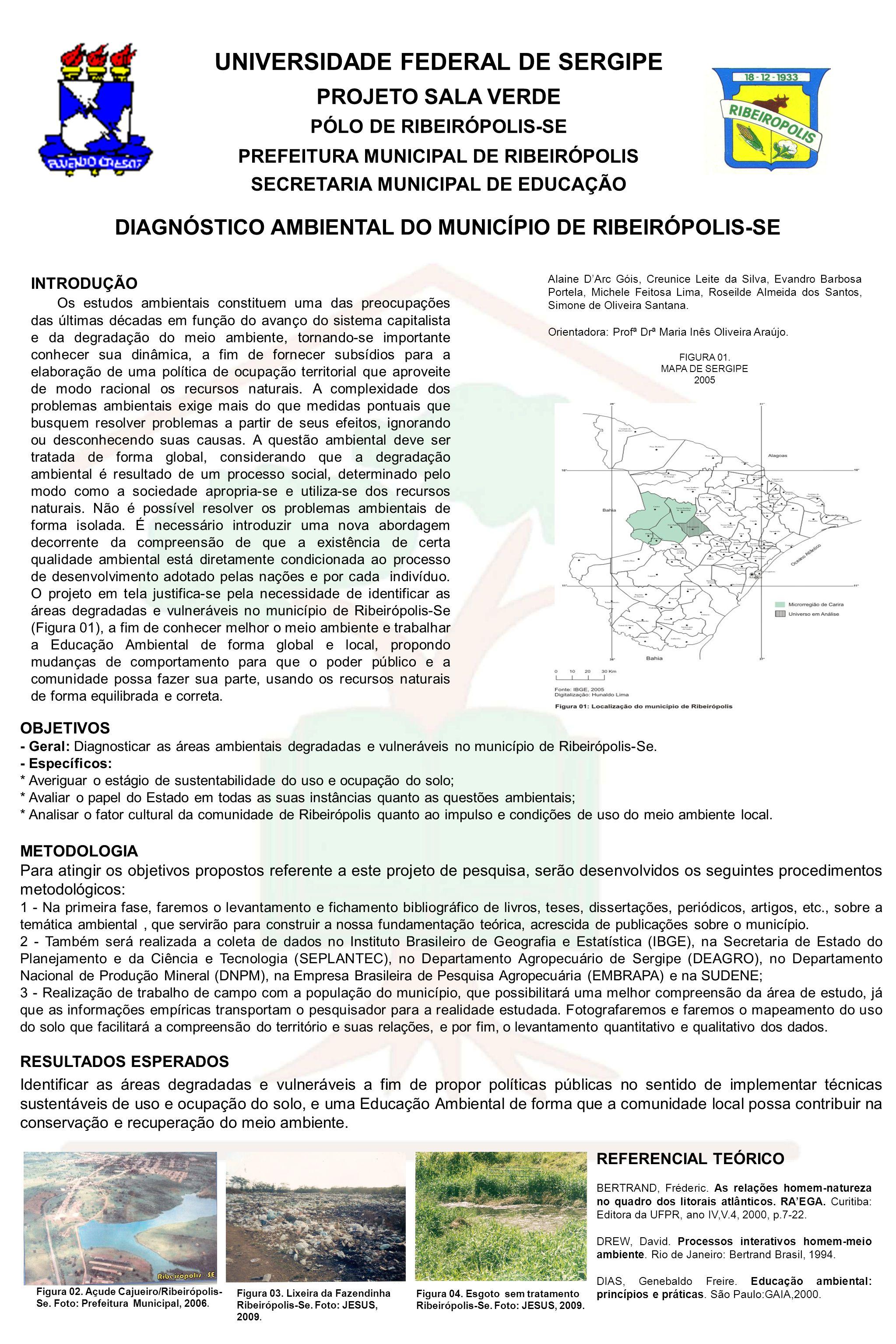 UNIVERSIDADE FEDERAL DE SERGIPE PROJETO SALA VERDE