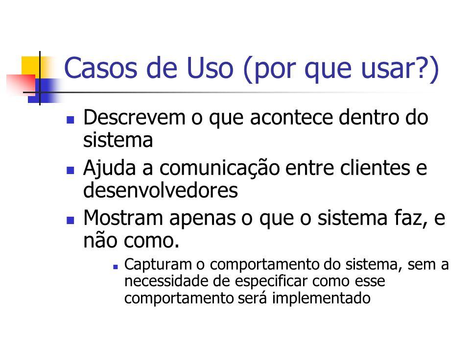 Casos de Uso (por que usar )