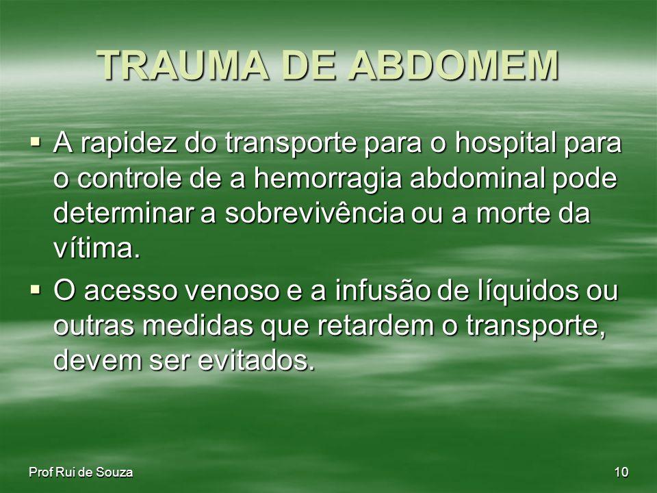TRAUMA DE ABDOMEM
