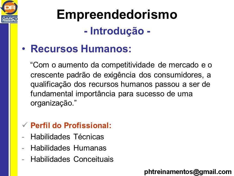 Empreendedorismo - Introdução -