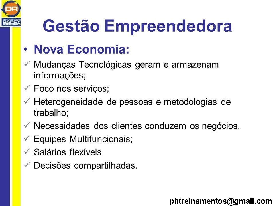 Gestão Empreendedora Nova Economia: